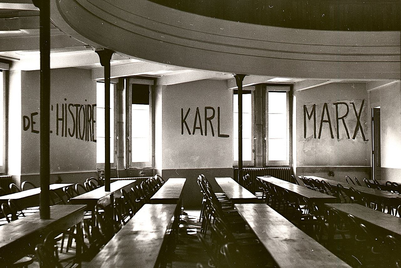 Graffito_in_University_of_Lyon_classroom_during_student_revolt_of_1968